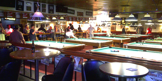 Pool Hall Dallas TX Billiards Tables Dallas Hawleys Billiards - How big is a pool table